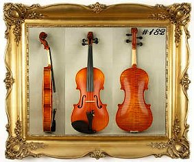 Custom Shop Violin #182