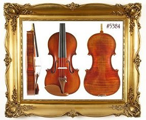 Custom Shop Violin #730
