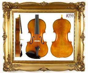 Custom Shop Violin #59