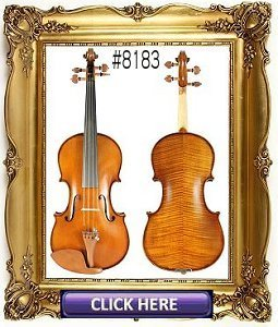 Custom Shop Violin #8183